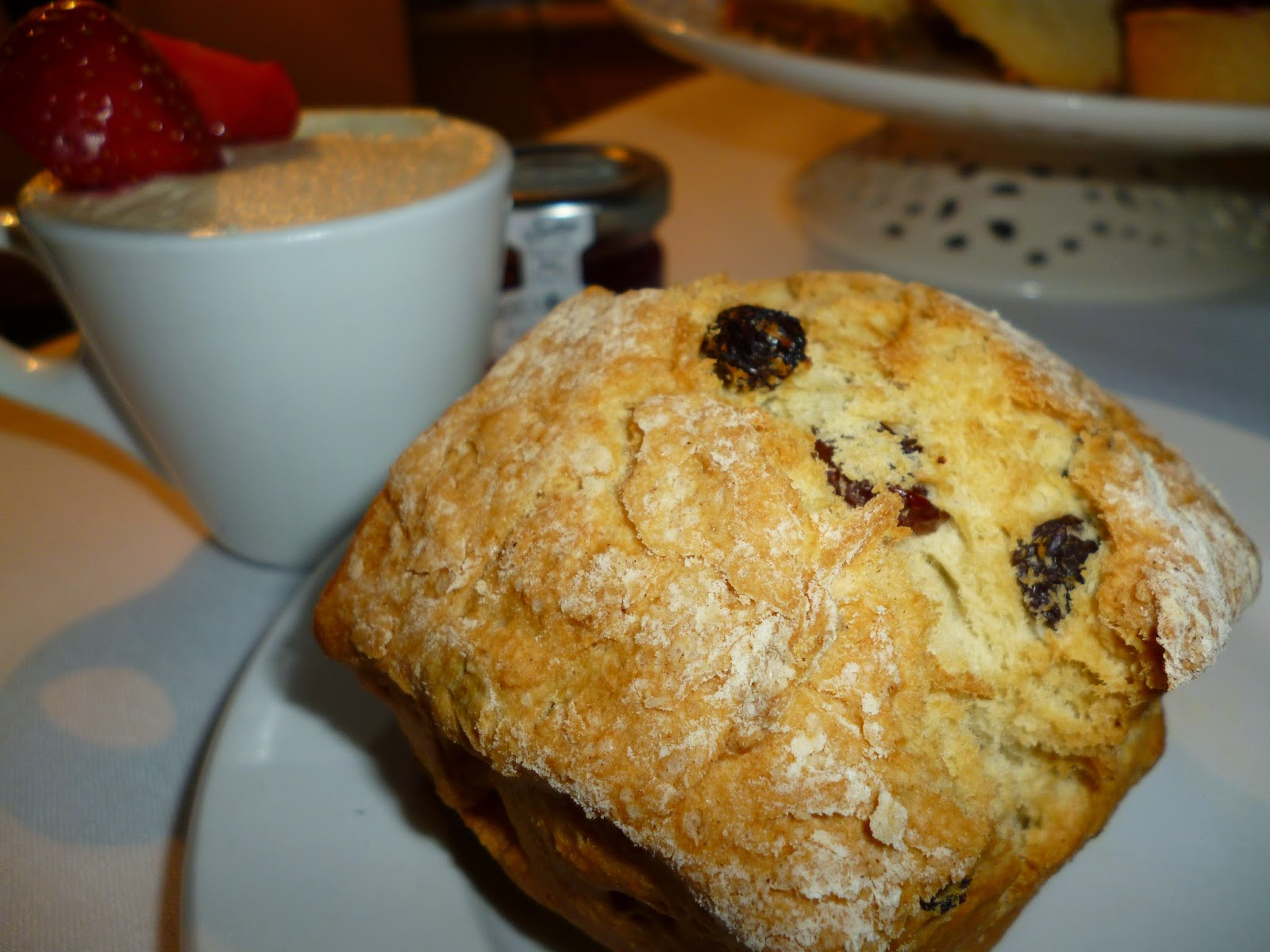 Scones and Cream at Ox Pasture Hall Hotel