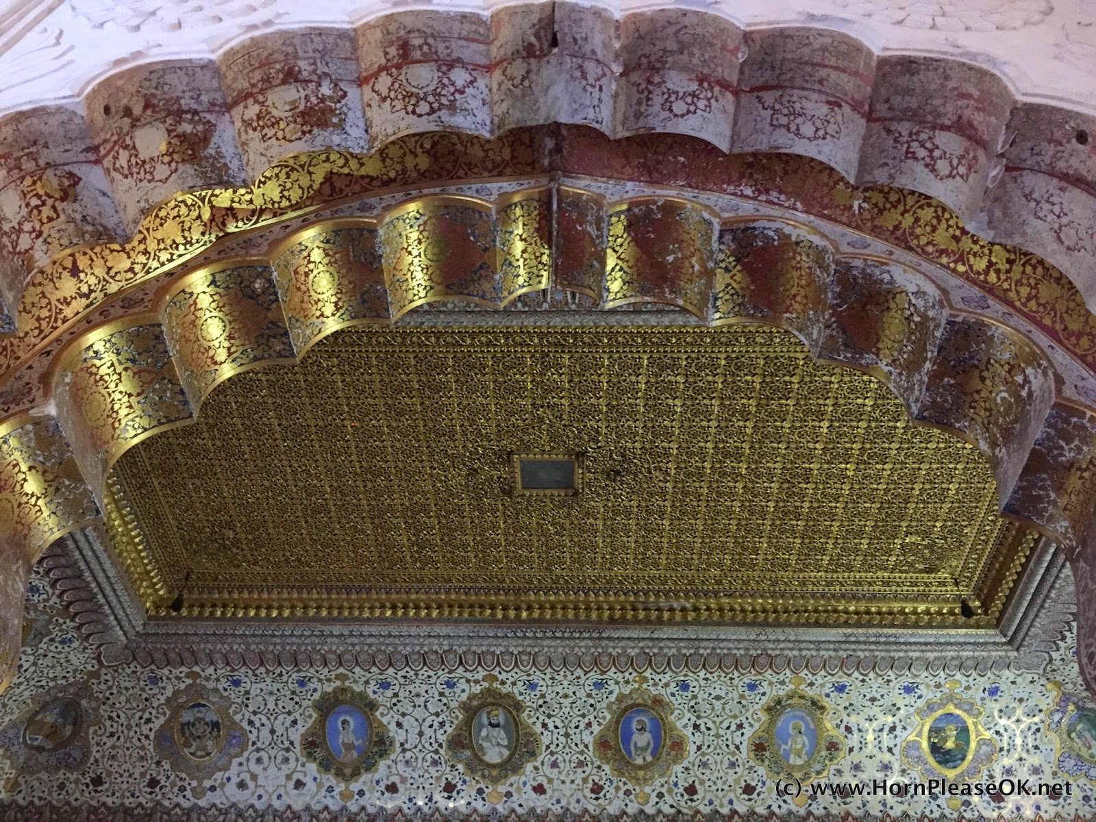 Phool Mahal inside Mehrangarh Fort