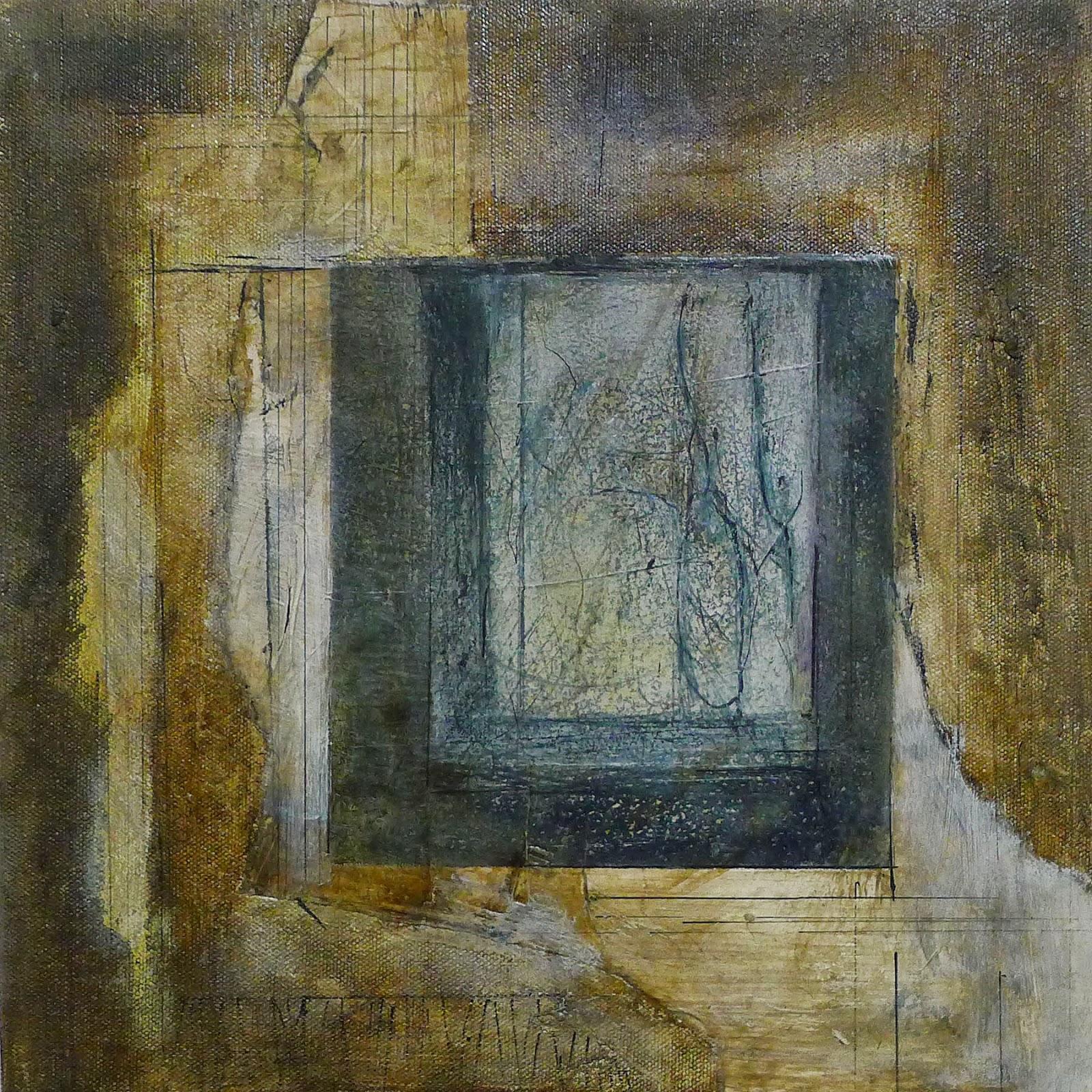 Reflections Artist Kathy Elliott   http://kathyelliottart.blogspot.com  #mixedmedia # abstractart
