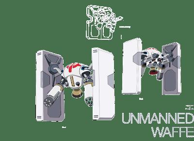 Unmanned Waffe