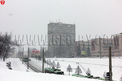 Минск уже начинает заметать