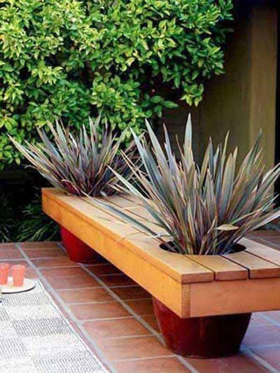 Outdoor benches with natural trees | Vietnam Outdoor Manufacturers