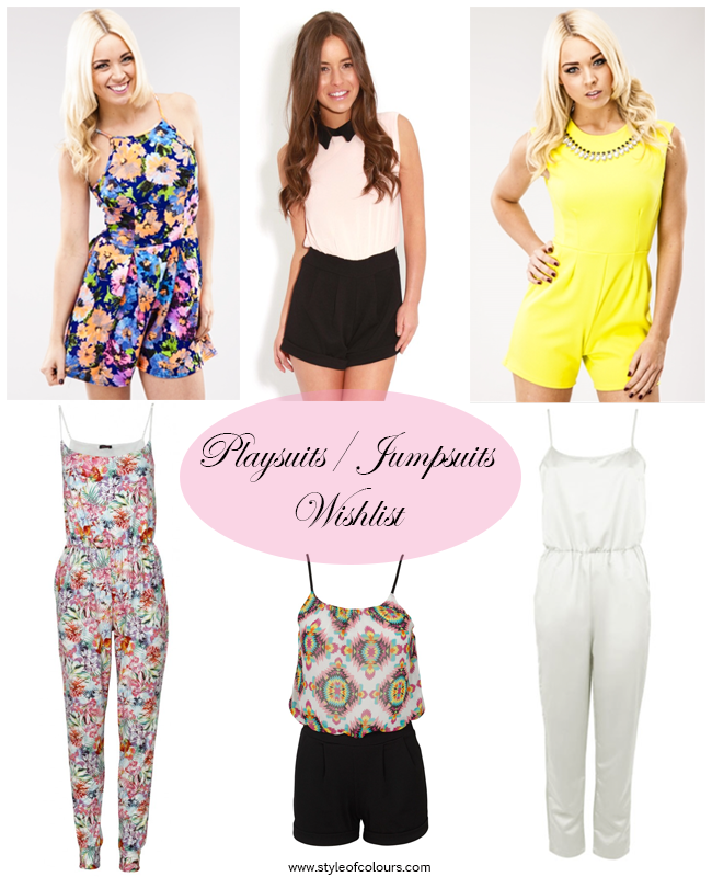 Playsuits/Jumpsuits