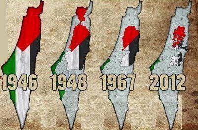 Territórios palestinos e a ocupação israelense