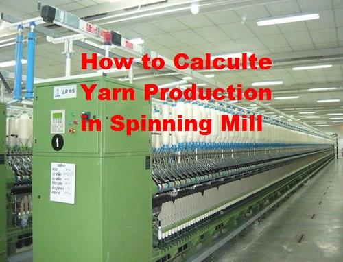 Yarn Spinning Mill