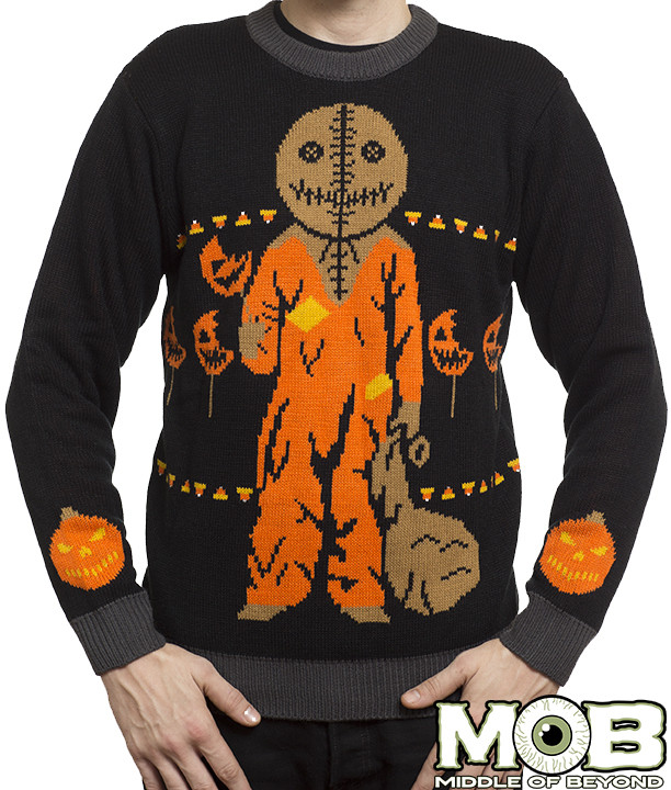 The Horrors of Halloween: Halloween Time Sweaters