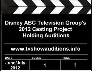 Disney ABC 2012 Casting Project Auditions