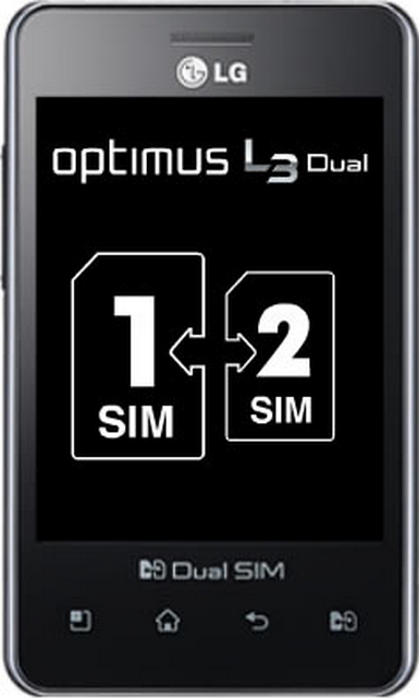 Electronic Products Gallery: LG optimus L3 dual E405