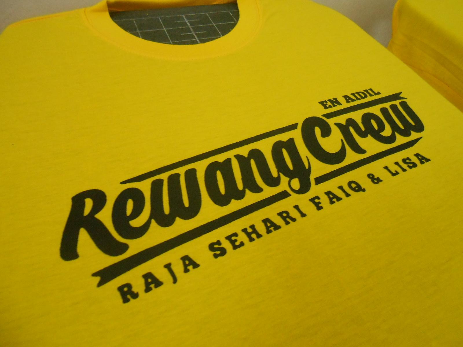 Design t shirt rewang - Design T Shirt Rewang Tempahan Tshirt Rewang Dari Terengganu