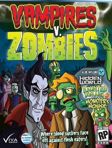 vampiros vs zombies pc portada