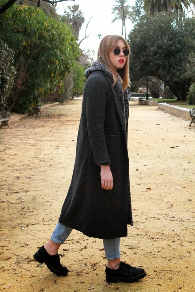Maxi coat layering