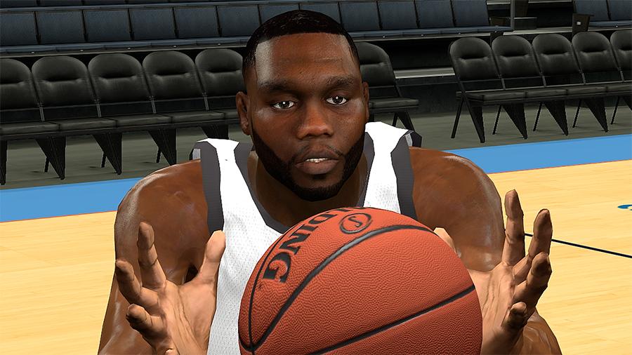 NBA 2K14 Al Jefferson Face Mod