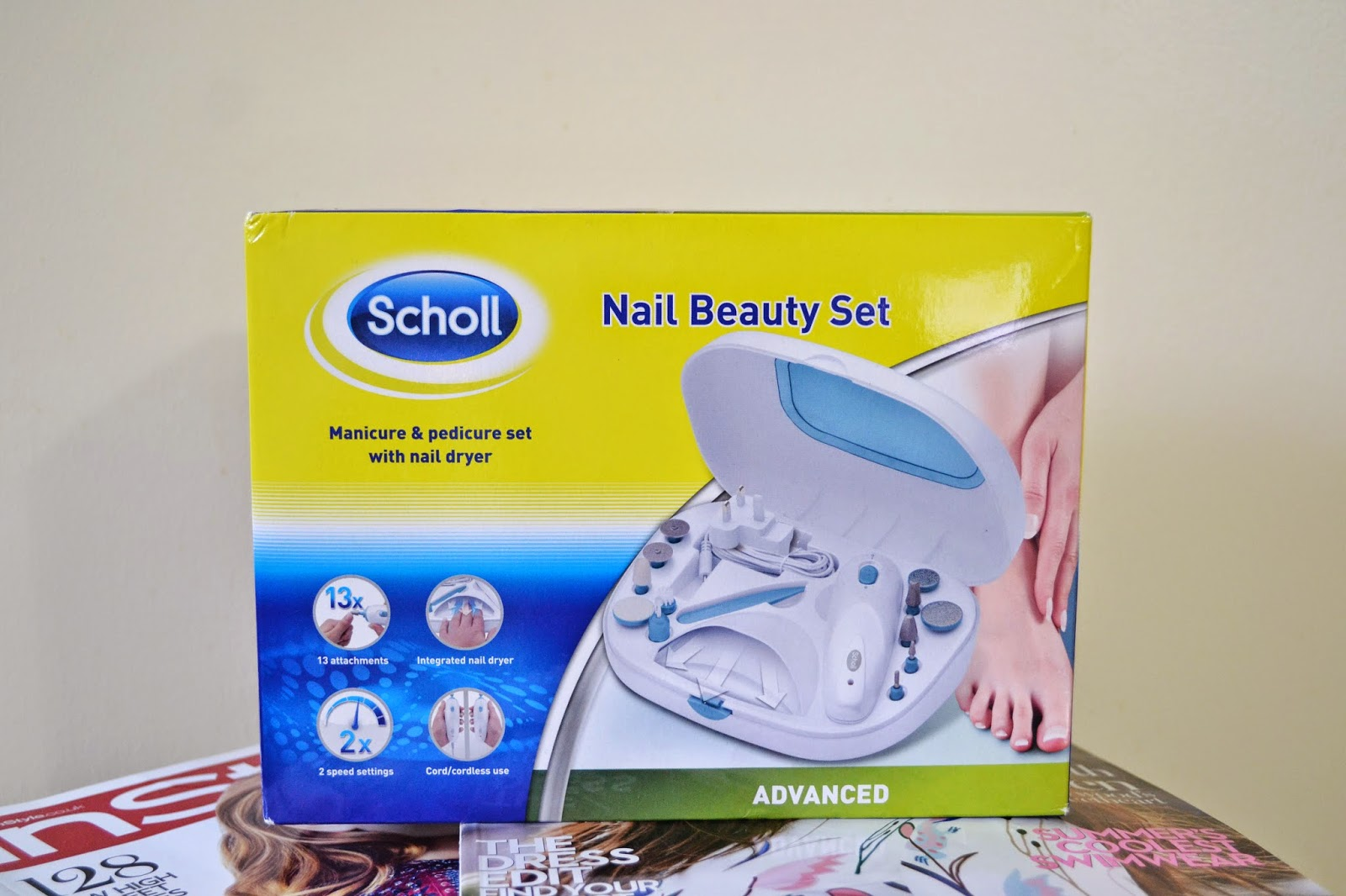 Scholl Manicure Pedicure Nail Beauty Set | Christmas Gift Guide #1 - Aspiring Londoner