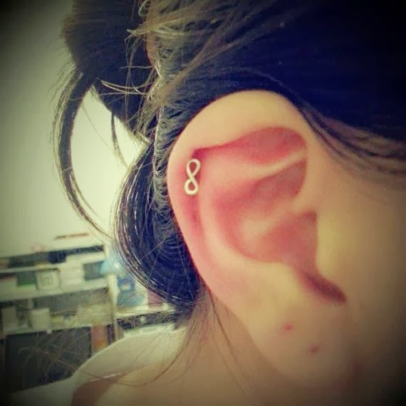 HELIX PIERCING PARA CHICAS