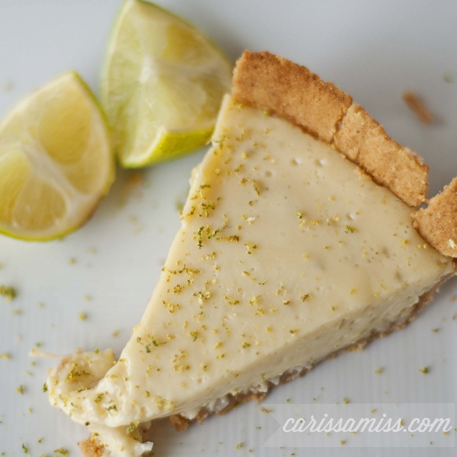 post my recipe for key lime pie. well, it's not technically key lime ...
