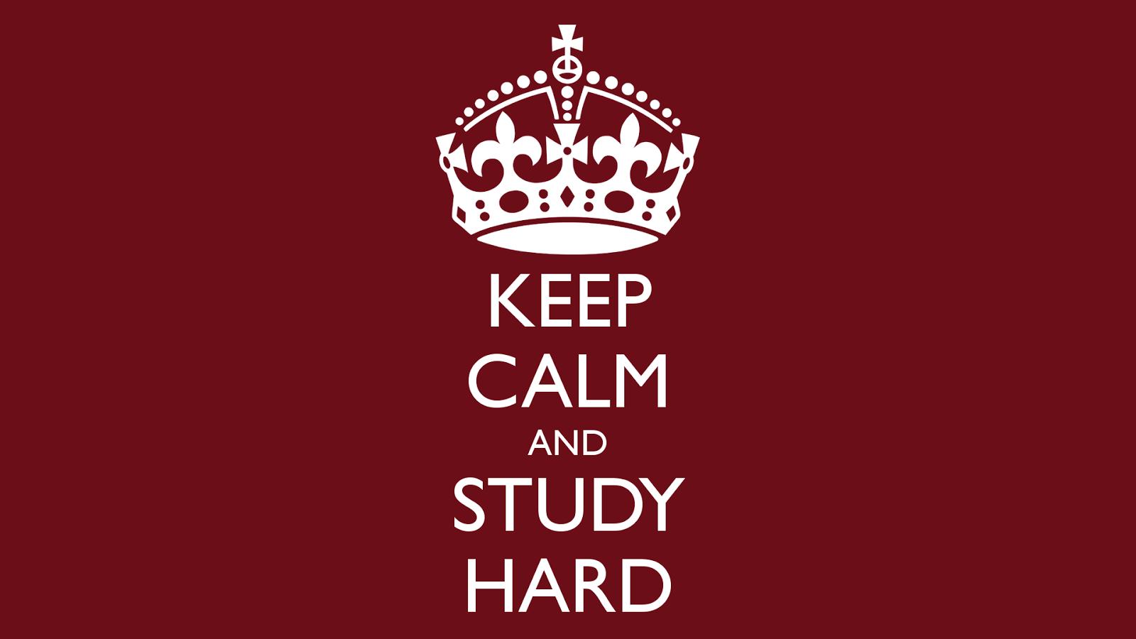 Keep Studying Wallpaper O-matic.co.uk/p/keep-calm