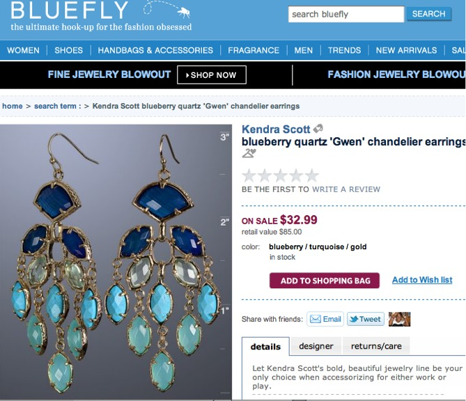 And The Gwen Chandelier Earrings Have Captured My Interest They Are 100 Though But Guess Who Also S Kendra Scott Jewelry Bluefly