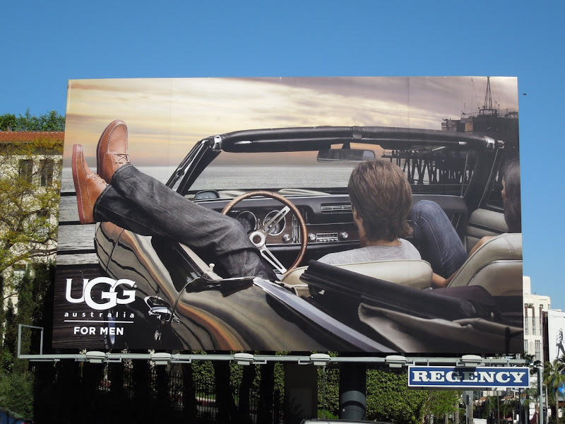 UGG Spring 2012 billboard