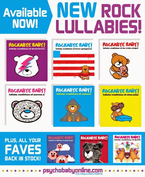 http://www.psychobabyonline.com/brands/Rockabye-Baby.html