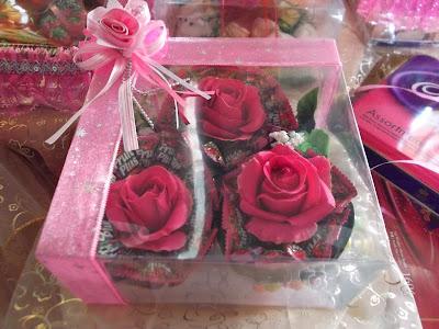 Gubahan Bunga Coklat