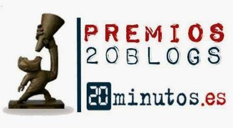 VÓTAME EN LOS PREMIOS 20BLOGS!