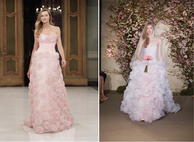 Wedding Trends Blush Wedding Dresses Belle the Magazine The