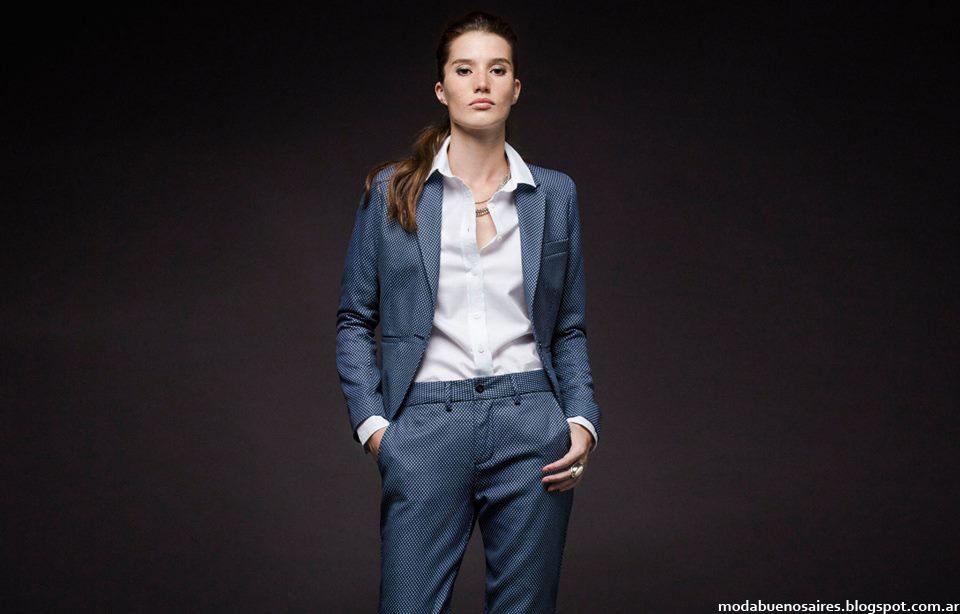 Trajes de mujer invierno 2015 Giesso mujer moda.