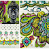 zentangle, scrapbooking y washi tapes
