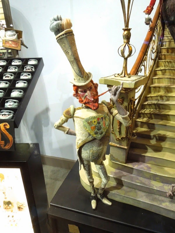The Boxtrolls stop-motion Lord Portley-Rind figure