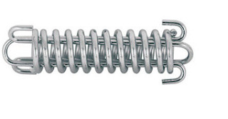 Photo of a custom silver drawbar spring