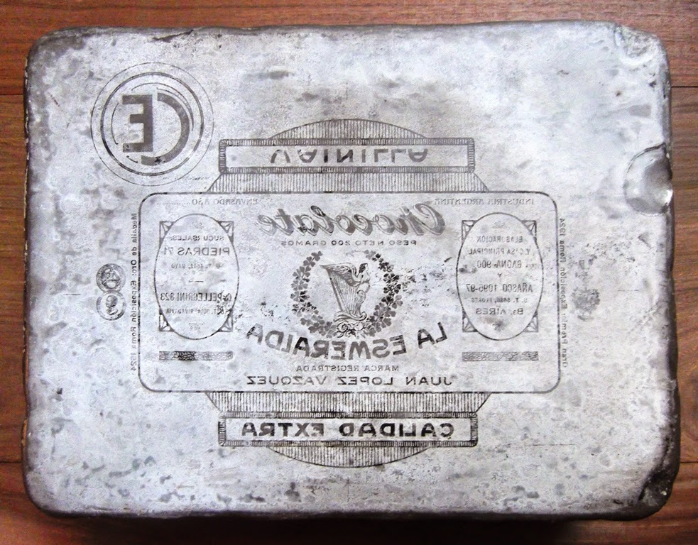 Cosas Elegidas: Piedra Litogr�fica. Chocolate La Esmeralda. 1920-1935.