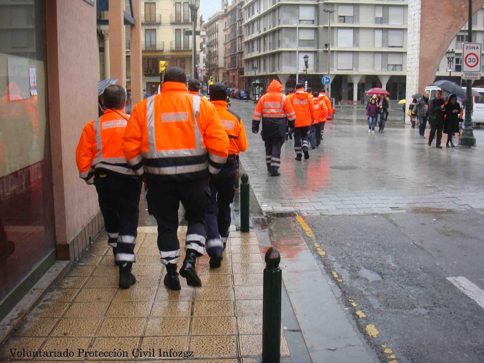 Voluntariado protecci n civil infozgz 05 01 13 - Tiempo en casetas zaragoza ...