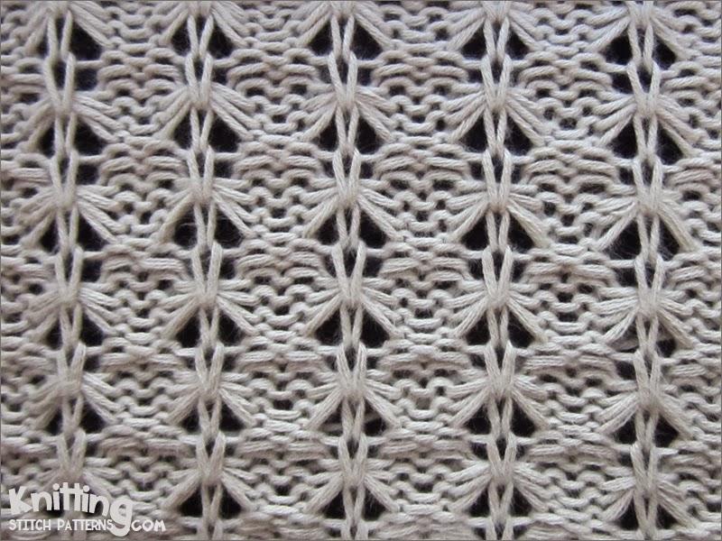 Dropped Stitch Scrunch Knitting Stitch Patterns