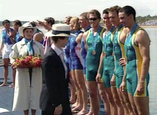 funny picture inauguration of australian swim team