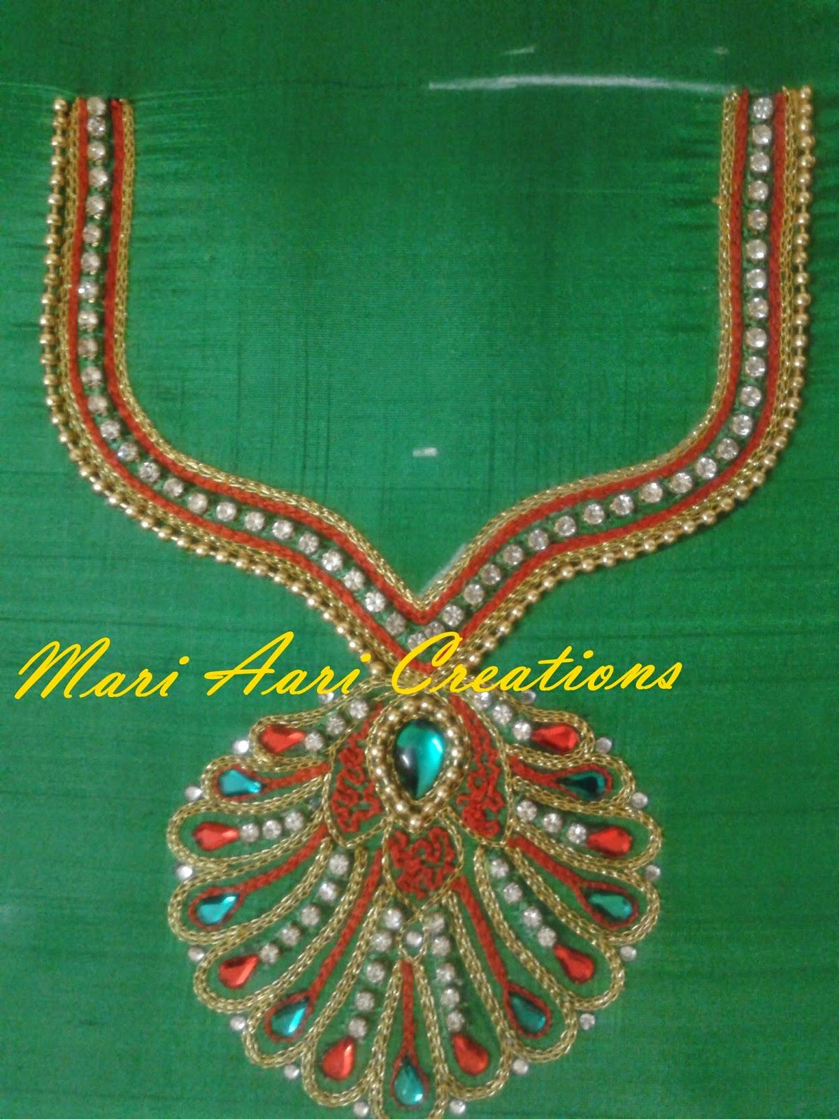 Mari aari creations fashion boutique designer