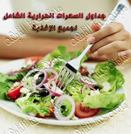 إعرف جدول السعرات الحرارية الشامل لزيادة الوزن والتسمين والريجيم وإنقاص الوزن -جدول السعرات الحرارية-دليل السعرات الحرارية لزيادة الوزن والتسمين-دليل السعرات الحرارية للوزن المثالى-جدول السعرات الحرارية للتخسيس السريع-ريجيم السعرات الحرارية-Food calories table