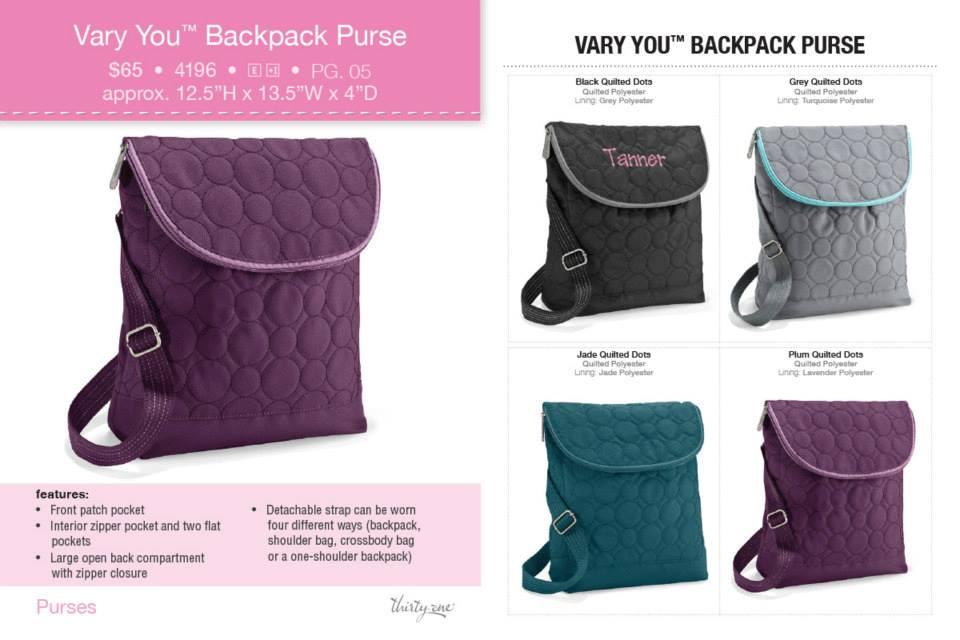 31 Backpack Purse | Backpack God