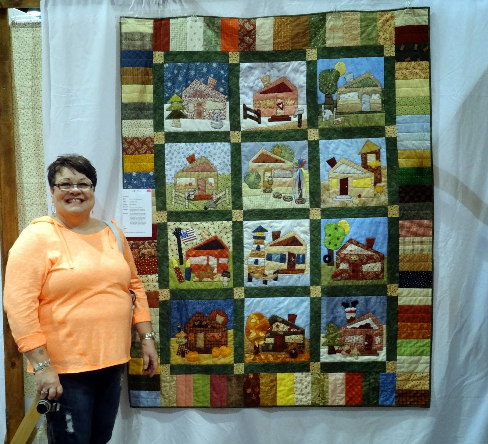 Squash House Quilts: Quilt Show in the Big City : theme quilts - Adamdwight.com