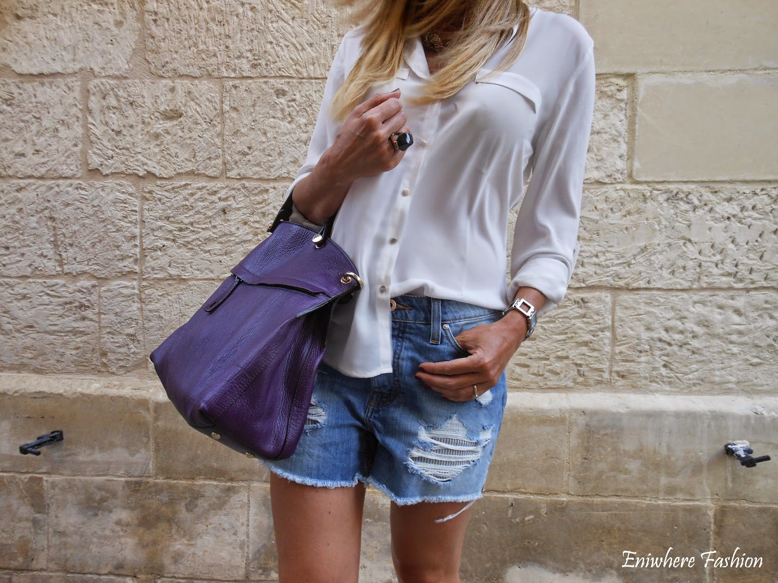 Eniwhere Fashion - Lecce - Shorts Mango
