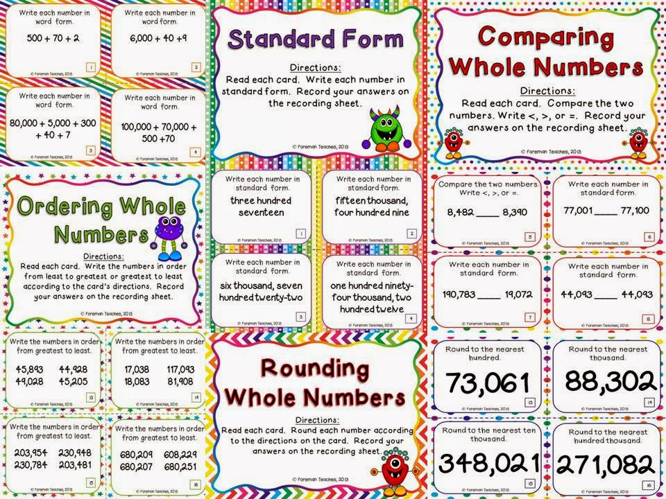 http://www.teacherspayteachers.com/Product/Place-Value-Task-Cards-for-Upper-Grades-Nine-Sets-714194