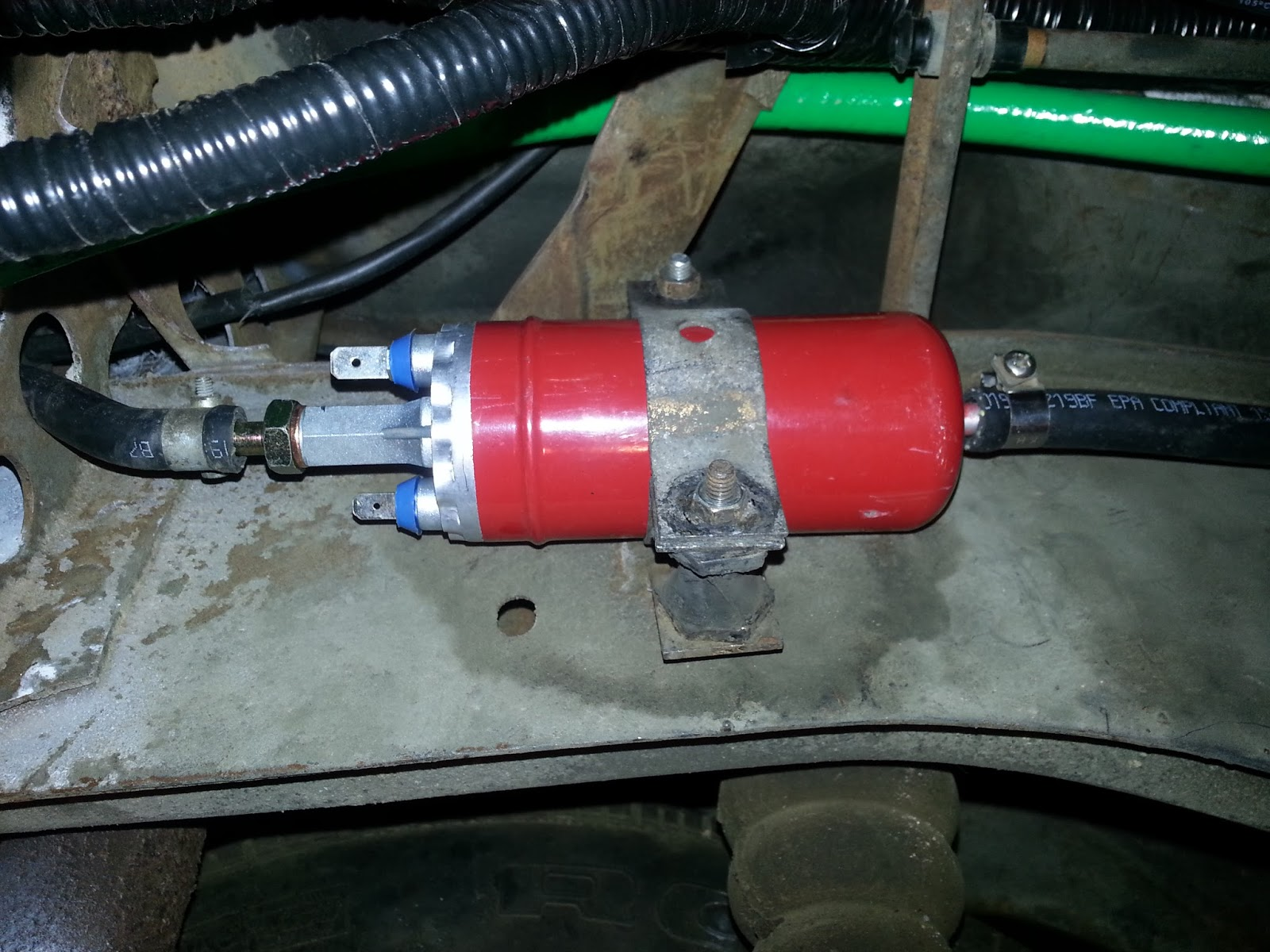the volksaru in tor this performance electric p37 fuel pump from sweetwater texas is a better stand in for the stock bosch pump it permits the removal of