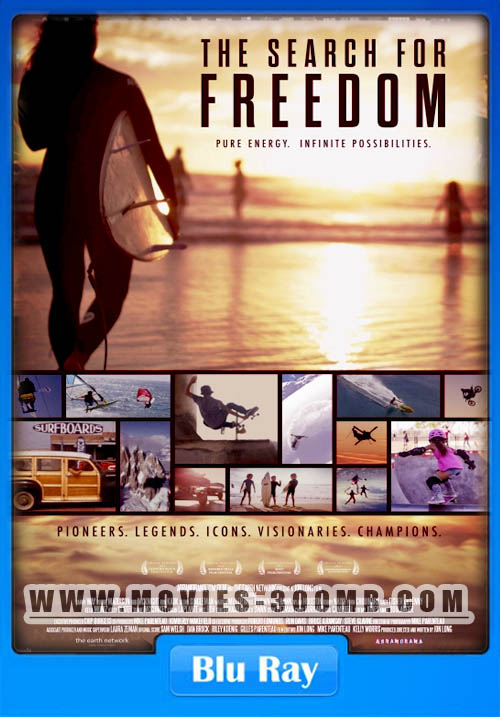 The Search for Freedom 2015 1080p BluRay 400MB Poster