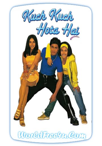 Poster Of Kuch Kuch Hota Hai (1998) Full Hindi Movie Free Download Watch Online At worldfree4u.com