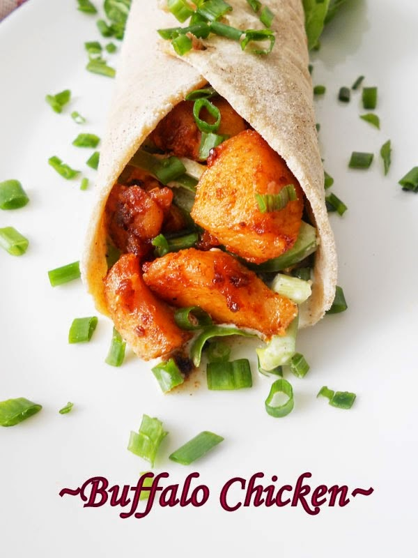 Buffalo Chicken Wraps....step by step. | Cooking Is Easy