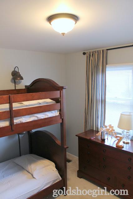 gold shoe girl boy 39 s bedroom before after