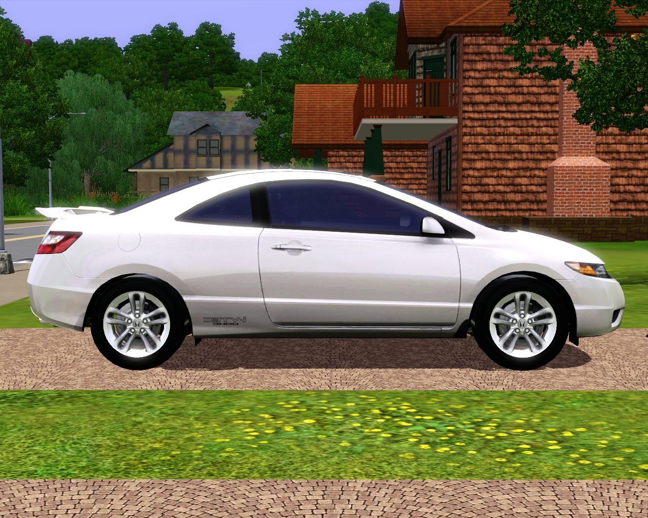my sims 3 blog 2008 honda civic si coupe by fresh prince. Black Bedroom Furniture Sets. Home Design Ideas