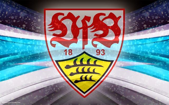 VfB Stuttgart wallpaper mit log