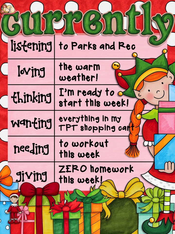 Mrs. E Teaches Math:  Currently December  | mrseteachesmath.blogspot.com