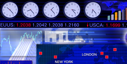 Forex us open time clock