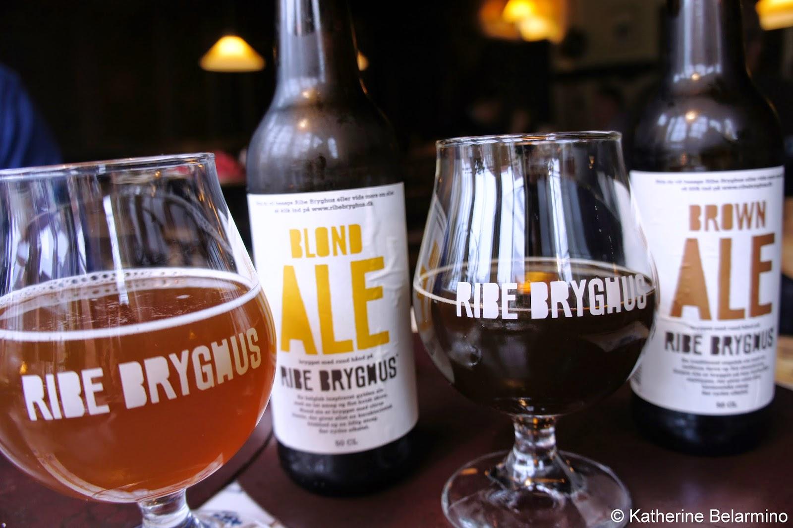 Ribe Bryghus Danish Beer Ribe Denmark